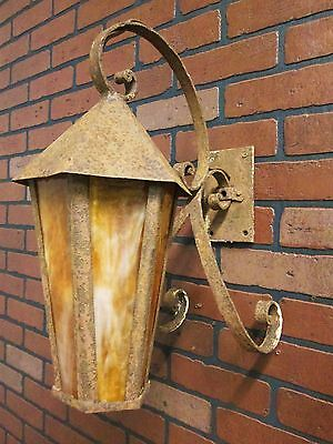 Vintage Antique Porch Light Sconce Over Front Entry Door Cottage  Bungalow 18""
