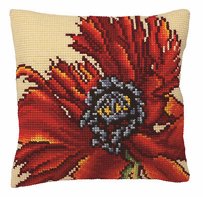 Collection D/'Art Flame CD5077 Cross Stitch Cushion Front Kit Butterfly