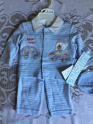 NWT Petite Beep Beep Winter Outfit Size 0-3 Months