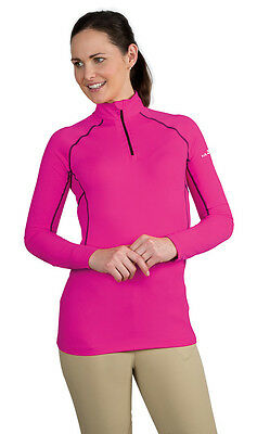 NEW Shires Ladies Air Dri Cross Country Long Sleeved Breathable Windproof Shirt
