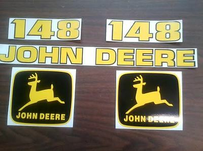 John deere 148 loader decals