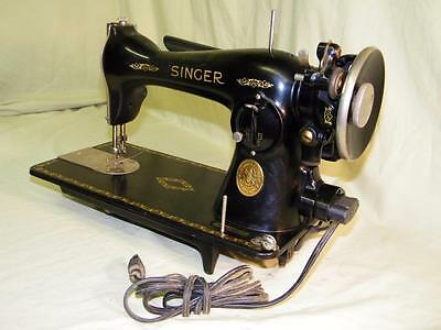 for parts or repair - 1934 Singer Sewing Machine   Model 15   S.N. AD808475