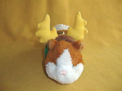 Reindeer Costume with Small Yellow Antlers for Guinea Pig from PetRATS