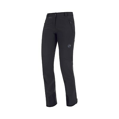 Mammut Tatramar SO Pants Women, warme Damen-Softshellhose, schwarz