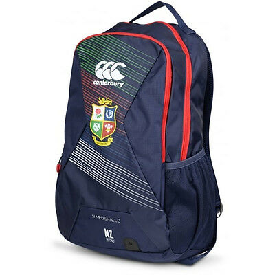 Canterbury British & Irish Lions 2017 Small Training Backpack Bag Navy Blue