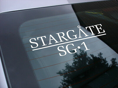 stargate sg-1 tv show decal sticker *free shipping sg1