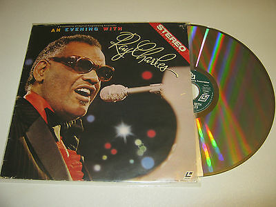 """Ray Charles """"An Evening with Ray Charles"""" Stereo Laser Videodisc"""