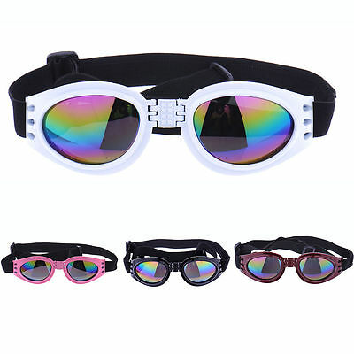 NEW Colorfull Pet Dog Goggles Dog Eye Wear Protection UV Sunglasses Sun Glasses