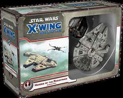 Star Wars X-Wing: Heroes of the Resistance expansion pack