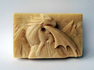 Dragon Silicone Soap Mold -  Soap Bar Mould Plaster Candle Clay Wax