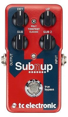 New TC Electronic SubnUp Polyphonic Octave Guitar Effects Pedal! Sub n Up!