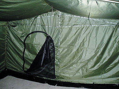 NEW Six Man Army Tent 6 Persons Large tent Mannschaftszelt BW Federal Army olive