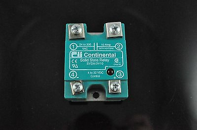Continental Solid State Relay SVDA/3V10 4 to 32 VDC 10 AMP