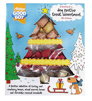 Good Boy Festive Biscuit Selection for Dogs & Pups 185g