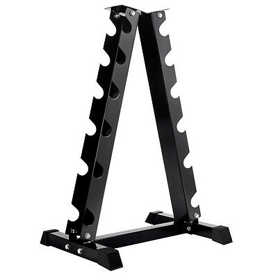 New Vertical Dumbbell Storage Rack 6 Pairs