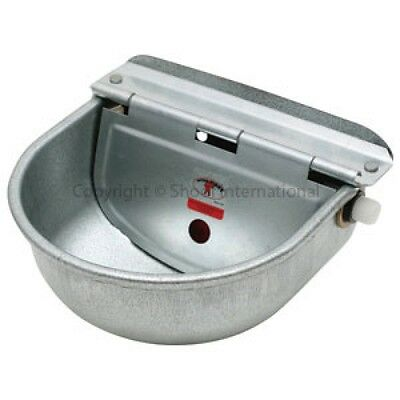 Horse Pony Cow Sheep Goat Chicken Dog Water Bowl Drinker Auto Fill Galv 4.2L