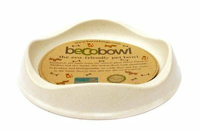 Beco Pets Becobowl Pet Bowl for Cats, Natural