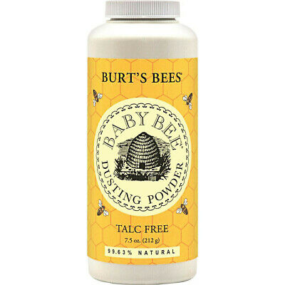 Burts Bees Baby Bee Natural Dusting Powder Talc Talcum Free 212g