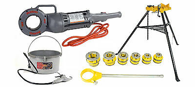 SDT Reconditioned RIDGID® 700 Threader with SDT 12R, 418 Oiler, 460 Vise, Cutter