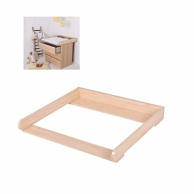 Baby Changing Table Top Wooden Diaper Changer Infant Dressing Nursery Station