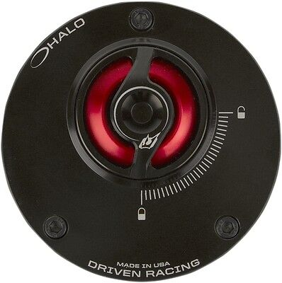 Driven DHFC-RD Halo Fuel Cap Red