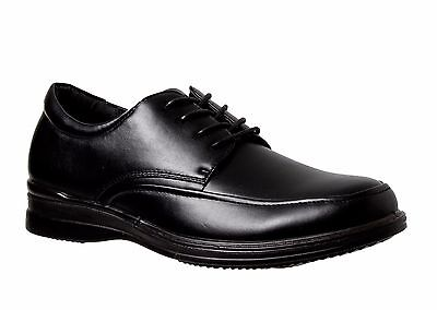 NEW Mens GROSBY - BECKETT Black Dress/FORMAL/CASUAL/WORK/LACE UP SHOES CHEAP