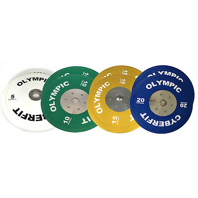 Olympic Weight Plates Set 100kg ELITE Bumpers