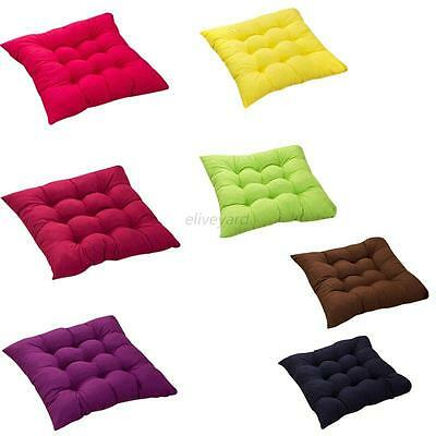 Soft Square Cotton Seat Cushion Home Office Outdoor Chair Patio Car Sofa Pads