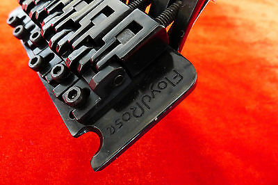 Genuine Floyd Rose Guitar Tremolo Bridge System With 43mm R3 Lock Nut Black FRB