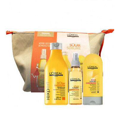 Pack Solar Sublime Cheveux Fins Shampooing + Soin + Spray L'oreal Professionnel