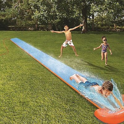 Bestway H2OGo! Single Lawn Water Slide with Drench Pool New Free Shipping