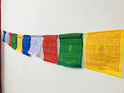 Tibetan  Cotton Prayer  Flag from the Land of Buddha, Nepal