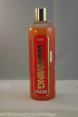 NAF Warming Wash, no rinse to wash sweat and grime from coat after exercise