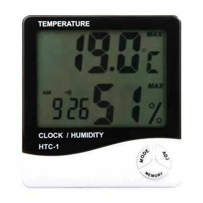Hydroponics Digital Thermometer Hygrometer Humidity and Temperature Indoor grow