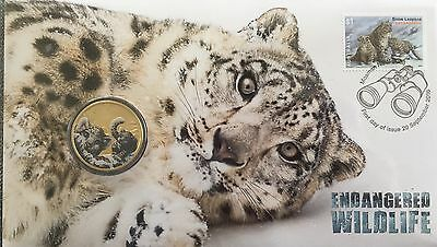 Snow Leopard Endangered Wildlife Pnc Limited To 7,500
