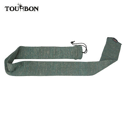 "Tourbon 53"" Gun Socks Sleeve for Rifle/Shotgun Slip Hunting Bag Vintage Shooting"