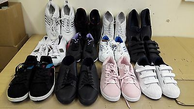 Wholesale Joblot of Footwear.12 Pairs of assorted new Trainers Ex Display Box 3