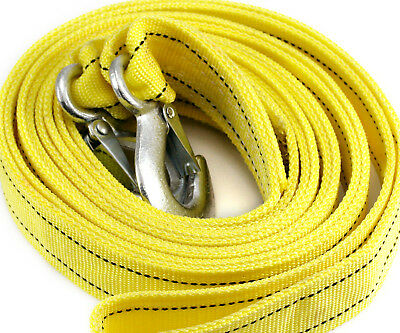 4.5M Tow Towing Pull Rope Strap Heavy Duty Road 5 Tons Car Recovery WA31 UK