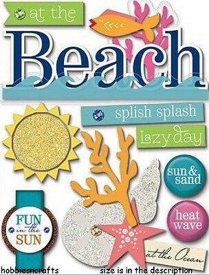 Mambi - Me & My Big Ideas Soft Spoken Stickers - Ss-1262 - Holidays At The Beach