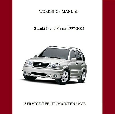 Suzuki Grand Vitara 1997-2005 Workshop Service Repair Manual Auto
