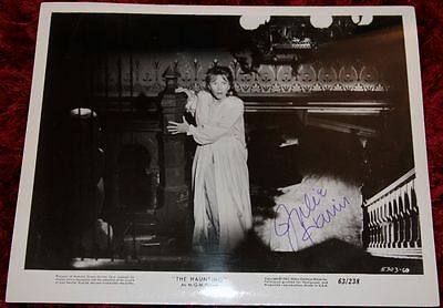 """JULIE HARRIS Signed 8"""" x 10"""" still from The Haunting (1963)"""
