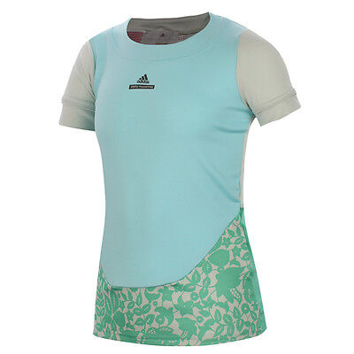 Stella McCartney By Adidas Girls Tennis Barricade Tee T-Shirt Top - S00101