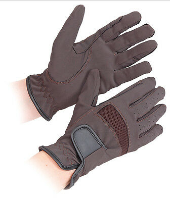 NEW Shires Bicton Lightweight Competition Horse Riding Gloves - Adults