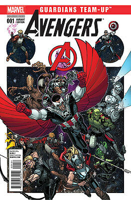 AVENGERS / GUARDIANS OF THE GALAXY TEAM-UP #1. Rare EXCLUSIVE VARIANT MARVEL