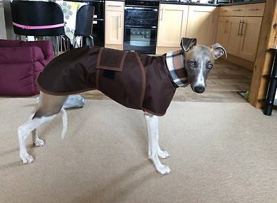 whippet/Greyhound/Lurcher walking out water proof coat '4 measurements needed'