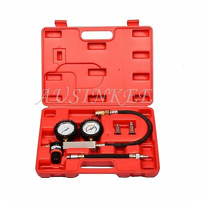 TU-21 Engine Cylinder Leakdown Tester Dual Gauge Diagnostic Cylinder Leak Tester