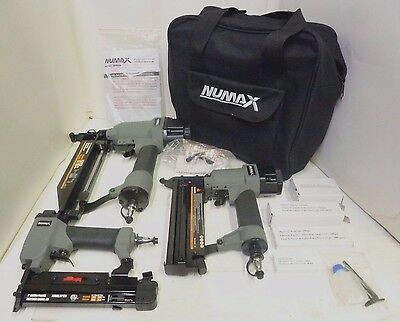 Numax Nailer & Stapler 16 pieces Set (Used, Store Display)