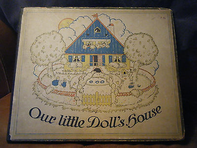 Vintage Book Our Little Dolls House
