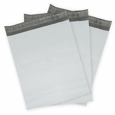 100 9x12 Plain Poly Mailer Plastic Shipping Mailing Bags Envelope Polybag 2 Mil