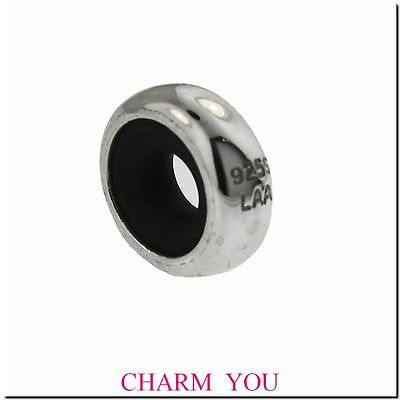 AUTHENTIC  TROLLBEADS 10401 Sterling Silver Stopper